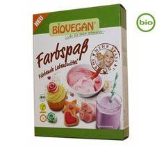Biovegan Farbspaß - Färbende Lebensmittel - Bio - 5 x - vekoop. Marzipan, Bio Vegan, Vegan Food, Spirulina, Seitan, Sans Gluten, Confectionery, Bento, Matcha