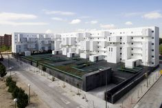 Image 12 of 21 from gallery of Architecture City Guide: 20 Places Every Architect Should Visit in Madrid. Photograph by Miguel de Guzmán Montenegro, Social Housing Architecture, Houses, Exterior, Places, Projects, Gallery, Madrid Guide, Personality