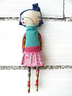 Antøn Antøn Things Handmade Soft Toys, Monster Dolls, Art Textile, Knitted Dolls, Soft Dolls, Stuffed Animal Patterns, Doll Crafts, Soft Sculpture, Fabric Dolls