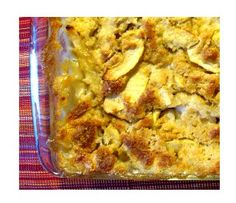 Dessert for Celebrate Your Heritage Potluck at school -- German apple pudding cake