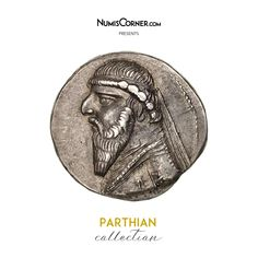 Unfortunately, this collectible item is no longer available ! ➽ Ask us to find it for you : Parthia (Kingdom of) Mithridates II Drachm Ekbatana Parthian Empire, Oriental, Coins, Silver, Inspiration, Collection, Biblical Inspiration, Coining, Money