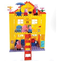 Peppa the Pig House Family Building Blocks Construction Duplo Compatible 100 pcs for sale online Toy Cars For Kids, Toys For Girls, Peppa Pig House, Ryder Paw Patrol, Halloween Disfraces, Christmas Toys, Christmas 2014, 9th Birthday, Birthday Ideas