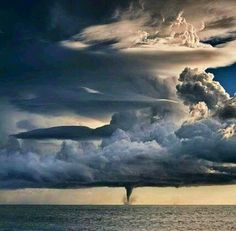 Waterspout  off the Gulf of Mexico.