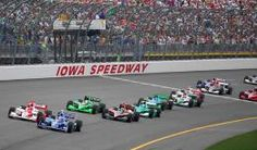 """Iowa Speedway, Newton - """"America's Place to Race"""" is a 7/8 mile oval track designed by former NASCAR champion Rusty Wallace. Enjoy NASCAR and IndyCar racing series, as well as concerts."""