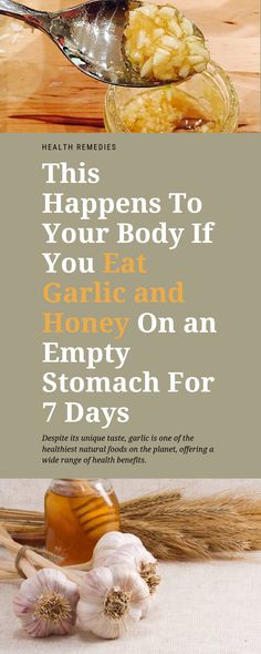This Happens To Your Body If You Eat Garlic and Honey On an Empty Stomach For 7 Days Despite its unique taste, garlic is one of the healthiest natural foods on the planet, offering a wide range of health benefits. Benifits Of Garlic, Garlic And Honey Benefits, Benefits Of Eating Garlic, Honey Health Benefits, Ginger Benefits, Protein Shake Recipes, Healthy Recipes, Tea Recipes, Brain Healthy Foods