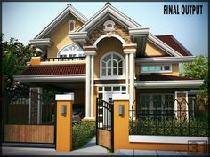 Home inspiration: luxurious elevated bungalow house design althea pinoy epl Small Bungalow, Bungalow Homes, Bungalow House Plans, Bungalow House Design, Modern Bungalow, Modern House Design, Two Story House Plans, Dream House Plans, House Floor Plans