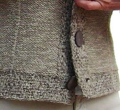 ERRATA: please note: when working the short rows for front neckline it is meant to SHORTEN the rows by sts, then for all sizes every then then 1 st … Crochet Cardigan, Ravelry, Knitting Patterns, Diy And Crafts, Neckline, Chanel, Note, How To Wear, Collection