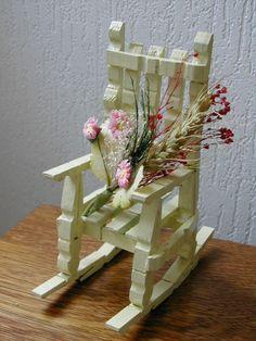 chaise en pinces à linge