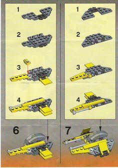 Star Wars Mini - Jedi Starfighter [Lego 6966]