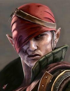 The Witcher 2 - Iorveth by triochef on deviantART