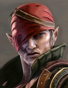 The Witcher 2 - Iorveth by triochef on deviantART