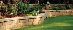 "rumblestone | November Articles – Permeable Pavers and ""Mean Green"" Retaining ..."