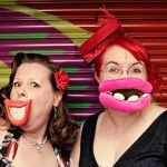 Extreme photobooth props... I like them! Think how much fun guests will have with some over the top props.
