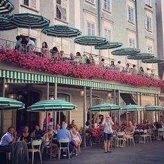 Cafe Tomaselli, Salzburg, Austria — by Fen. The pretty 300-year-old café! Canada Travel, New Travel, Salzburg Austria, Munich, Fort Santiago, Vienna Cafe, European Cafe, Future Travel, Bavaria