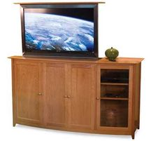 Chelsea Tv Lift Cabinet Pompanoosuc Mills We All Have An Affection For Our Large