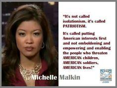 Thank you, Michelle Malkin! It's Called PATRIOTISM!!!