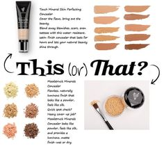 Younique concealer...:) what types would work best for you?? Stop by and visit me on Facebook for more great products @ www.facebook.com/Youniquebyjanismajor Visit www.getyourlashes.com to browse the catalog online