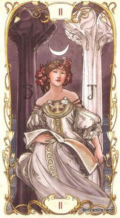 <({ The High Priestess })>