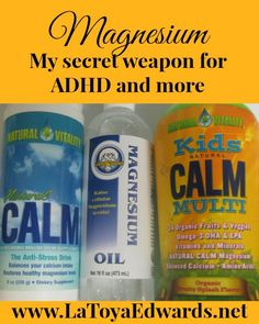 Magnesium: Great natural way to treat ADHD, migraines, sleep issues and much more..