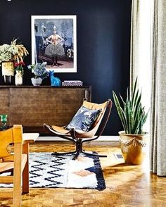 """510 Likes, 5 Comments - Vinterior (@vinterioruk) on Instagram: """"Sigurd Resell's mid century design classic - the Falcon chair - looking rather lovely here. You can…"""""""