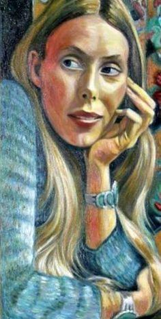 Self-Portrait. Joni Mitchell