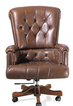 not necessarily this one, but a comfortable, rotating leather office chair for my desk. height must adjust.