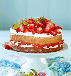 Dessert Recipes, Desserts, Vanilla Cake, Salads, Cheesecake, Sweet, Food, Tailgate Desserts, Candy