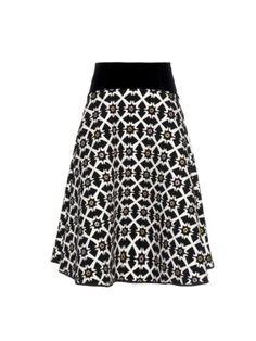 Jacquard tile-print skirt   Giles   MATCHESFASHION.COM UK