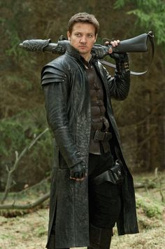 """This costume is amazing - Jeremy Renner in """"Hansel and Gretel: Witch Hunters"""""""