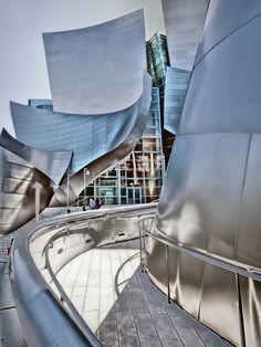 Walt Disney Hall, designed by Frank Gehry, Los Angeles, California