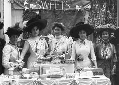 The Sweets stall at the Women's Exhibition, May 1909 from the Museum of London…