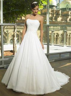 Ball Gown Strapless Europe Wedding Dress #W21576931