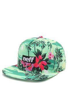 Neff Five O Snapback Hat - Mens Backpack - Green - One from PacSun. Dope Hats, Flat Hats, Men's Backpack, Beanie Hats, Beanies, Snapback Cap, Funny Design, Headgear, Pacsun