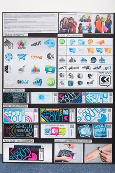 Scholarship Design Folio - Shout Out Youth Forum