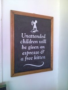 Sign in the restaurant at The Southern Right Hotel (the old Glencairn Hotel) in Simon's Town, Cape Town, South Africa.