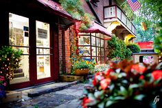 8. Explore the cobblestone streets of German Village.