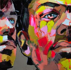 Soulful, emotional portrait paintings by Françoise Nielly