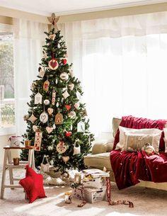 Los mejores 100 árboles de Navidad Xmas, Christmas Tree, Christmas Decorations, Holiday Decor, Diy, Home Decor, Christmas Decor, Embellishments, Garlands