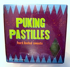 Harry Potter Weasleys Wizard Wheezes Puking Pastilles Candy