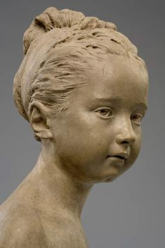 Louise Brongniart (1772-1845) by J-A. Houdon