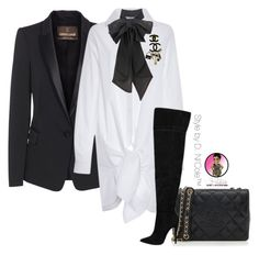 """""""Untitled #2901"""" by stylebydnicole ❤ liked on Polyvore featuring Chanel, Roberto Cavalli and Thakoon"""