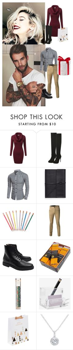 """¤Christmas ¤"" by anon-lovers-1d5sos ❤ liked on Polyvore featuring J.TOMSON, Bynd Artisan, ban.do, Common Projects, Rifle Paper Co, russell+hazel and EWA"