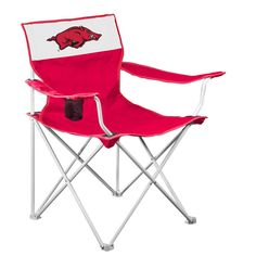 Arkansas Razorbacks NCAA Canvas Chair