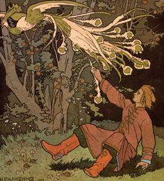 childhood memories of fantasmic russian lands - ivan and the firebird