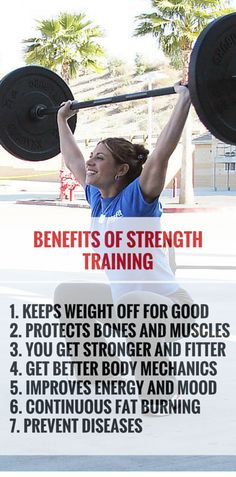 Strength training for weight loss. Make it a part of your workout. #strength #fitness #workout #weightloss http://rupertreviews.com/7-reasons-to-include-strength-training-in-your-fitness-training-program/