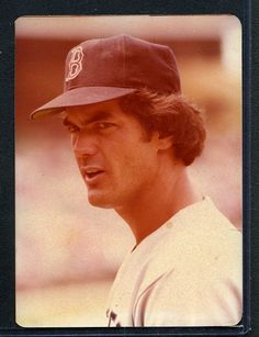 1981 Topps Baseball Match Print. Dwight Evans RED SOX