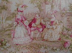 Pink Toile Marie Antoinette