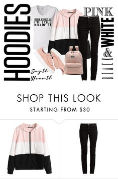 """""""Even On My Worst Day"""" by sayitwearit on Polyvore featuring Valentino, Vans and Hoodies"""