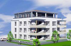 Attraktives Neubauprojekt in Top-Lage von Waldkirch:  In nobler Umgebung entsteht der Neubau eines kleinen Mehrfamilienhauses mit sieben Wohneinheiten. Darunter befinden sich drei 3-Zimmer-Eigentumswohnungen, drei 4-Zimmer-Eigentumswohnungen und eine attraktive Penthouse-Wohnung. Der Baubeginn ist für Frühjahr/Sommer 2015 vorgesehen.