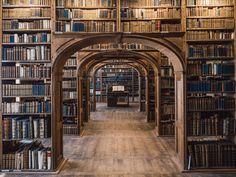 Baroque House / Neißstraße - Historical Library Hall from Görlitz / Saxony by jn Library Room, Dream Library, Closet Library, Cozy Library, Reading Library, Local Library, Photo Library, Beautiful Library, Home Libraries